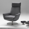 Charcoal Swivel Chairs (Photo 5 of 25)