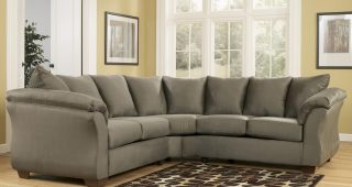Ashley Curved Sectional