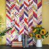 Fabric Decoupage Wall Art (Photo 1 of 15)