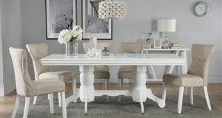 White Dining Tables With 6 Chairs