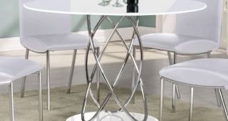 High Gloss Round Dining Tables
