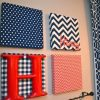 Red Fabric Wall Art (Photo 8 of 15)