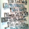 Family Rules Wall Art (Photo 16 of 20)