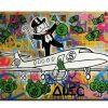 Graffiti Canvas Wall Art (Photo 13 of 15)