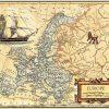 Europe Map Wall Art (Photo 18 of 20)