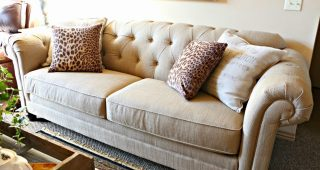 Gold Sectional Sofa