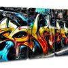 Graffiti Canvas Wall Art (Photo 11 of 15)