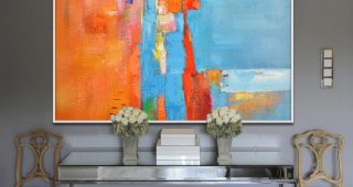 Giant Abstract Wall Art