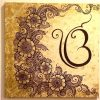 Henna Wall Art (Photo 23 of 25)