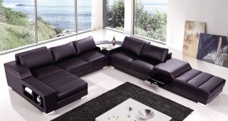 High End Leather Sectionals