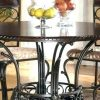 Amir 5 Piece Solid Wood Dining Sets (Set of 5) (Photo 19 of 25)