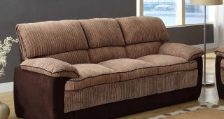 Brown Corduroy Sofas