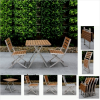 Outdoor Brasilia Teak High Dining Tables (Photo 15 of 25)