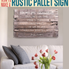 Wall Accents Made From Pallets (Photo 10 of 15)