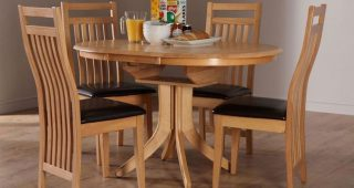 Small Extendable Dining Table Sets
