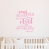 For This Child I Have Prayed Wall Art (Photo 17 of 20)