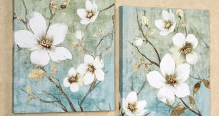 Floral Wall Art Canvas