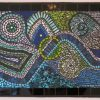 Abstract Mosaic Art on Wall (Photo 11 of 15)