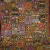 Indian Fabric Art Wall Hangings (Photo 5 of 15)