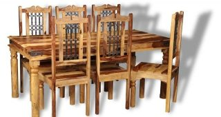 Sheesham Dining Tables and Chairs