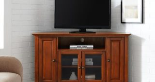 """Griffing Solid Wood Tv Stands for Tvs Up to 85"""""""