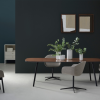 Palazzo 6 Piece Dining Sets With Pearson Grey Side Chairs (Photo 14 of 25)