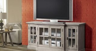 Glass Fronted Tv Cabinet