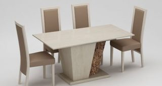 Marble Effect Dining Tables and Chairs
