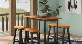 Kerley 4 Piece Dining Sets