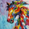 Abstract Horse Wall Art (Photo 2 of 15)