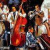 Abstract Jazz Band Wall Art (Photo 8 of 15)