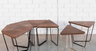 Carly Triangle Tables