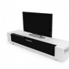 White and Black Tv Stands (Photo 1 of 20)