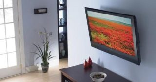 Tilted Wall Mount for Tv