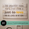 Wood Wall Art Quotes (Photo 2 of 20)