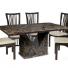Marble Effect Dining Tables and Chairs (Photo 2 of 25)