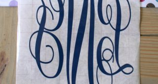 Monogrammed Home Decor: Make It Personalized!