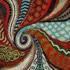 Abstract Mosaic Art on Wall (Photo 6 of 15)