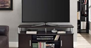 Mainstays 3-Door Tv Stands Console in Multiple Colors