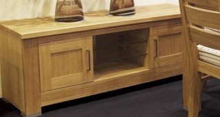 Oak Tv Cabinet With Doors
