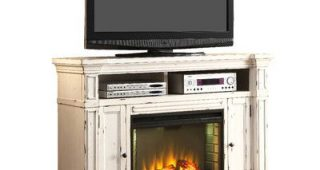 """Rickard Tv Stands for Tvs Up to 65"""" With Fireplace Included"""