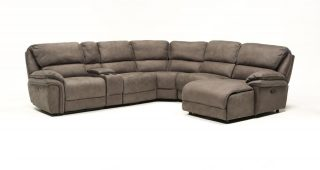 Norfolk Grey 6 Piece Sectionals With Raf Chaise