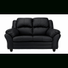 Black 2 Seater Sofas (Photo 4 of 20)