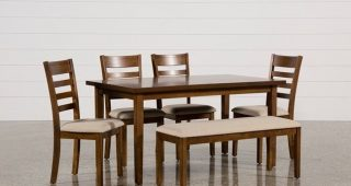 Combs 7 Piece Dining Sets With Mindy Slipcovered Chairs