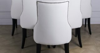 Perth White Dining Chairs
