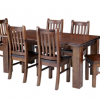 Wooden Dining Tables and 6 Chairs (Photo 9 of 25)