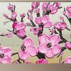 Abstract Cherry Blossom Wall Art (Photo 7 of 20)