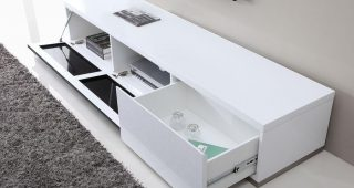 High Gloss White Tv Stands