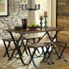 Jaxon 6 Piece Rectangle Dining Sets With Bench & Wood Chairs (Photo 23 of 25)