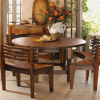 Palazzo 6 Piece Dining Sets With Pearson Grey Side Chairs (Photo 9 of 25)